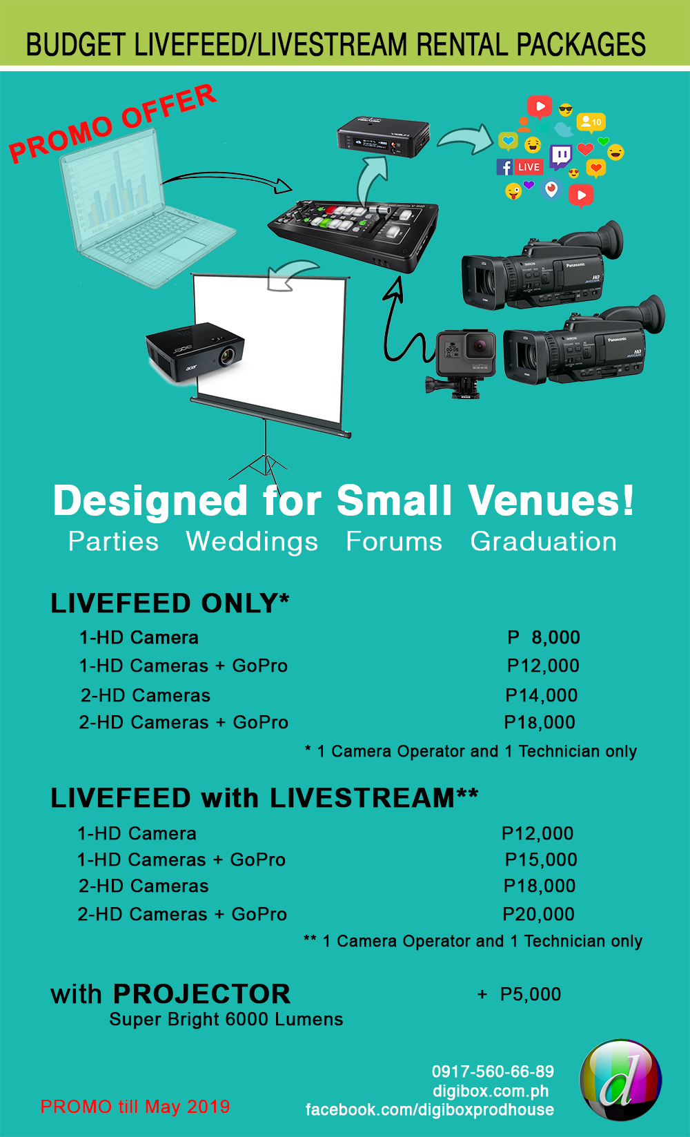 LIVEFEED BUDGET SMALL VENUE web