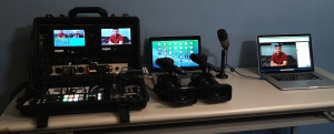 Portable Multi-Cam Livestreaming Set-up